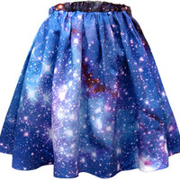 LMC Nebula Skirt, Galaxy Print, Organic Cotton