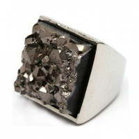 Precious Stone Statement Ring