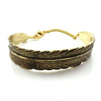 Retro Feather Bracelet