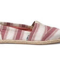 Shiraz Umbrella Stripe Women's Classics | TOMS.com