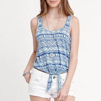 Nollie Tie Front Tank at PacSun.com