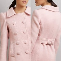 BLACK SWAN Natalie Portman&#x27;s Pink Coat Nina by stylemadehere
