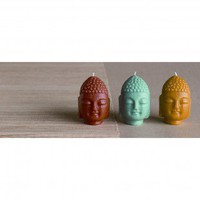 Blissliving Home Mini Trio Buddha Candles - BL70015