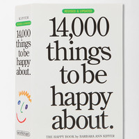 14,000 Things To Be Happy About By Barbara Ann Kipfer- Assorted One