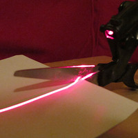 Laser Guided Scissors - From BaronBob.com