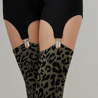 Leopard Stockings - XS, S, M, L