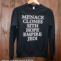 Unisex Star Wars sweater  Choose Size  Made to by DebbieMarine