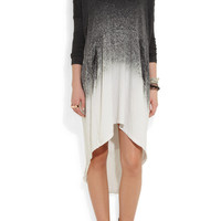 Raquel Allegra | Laddered tie-dye cotton-blend jersey dress | NET-A-PORTER.COM