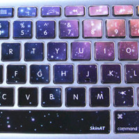 Universe Galaxy MacBook Pro Air Vinyl Sticker Decal from MaMoLIMITED on Etsy