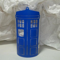 Doctor Who Tardis Shot Glass by TheCraftyGeek86 on Etsy