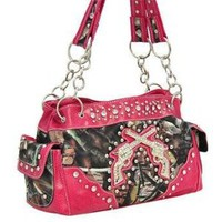 Amazon.com: PINK CAMO WESTERN DOUBLE GUN PURSE: Everything Else