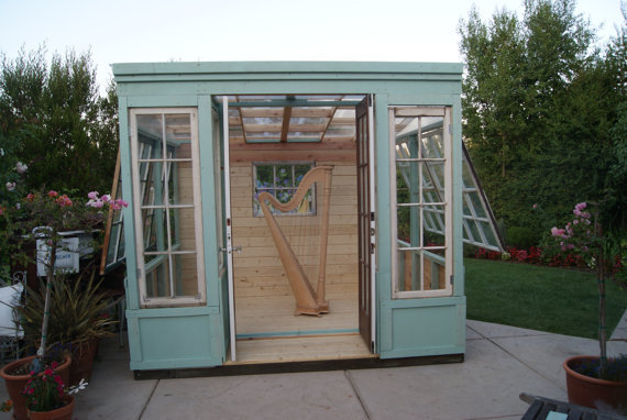 Arts Studio, Shed, Or Greenhouse, Vintage From
