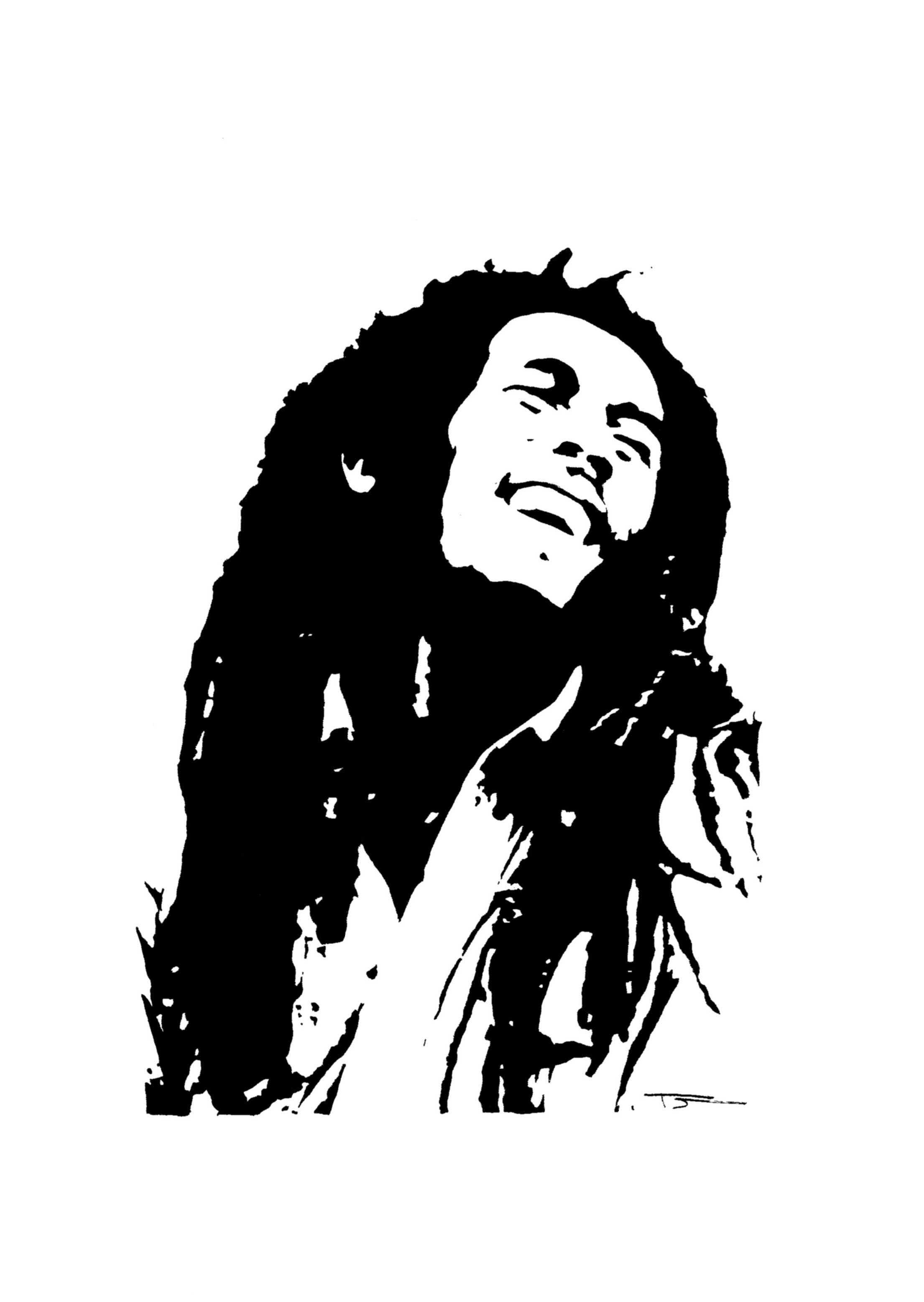 Top Bob Marley Pop Art...