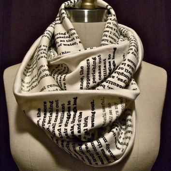 Wrap Up With A Good Book Scarf Pride and Prejudice by storiarts