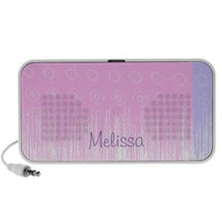 Personalized Softest Colors Travelling Speakers from Zazzle.com