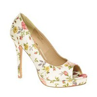 ASOS | ASOS PASSION Platform Peep Toe Court Shoes at ASOS