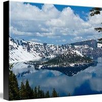 crater lake 2 Art Prints by David Hunter - Shop Canvas and Framed Wall Art Prints at Imagekind.com