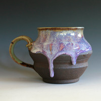 Large Coffee Mug Holds 25 oz handmade ceramic cup by ocpottery