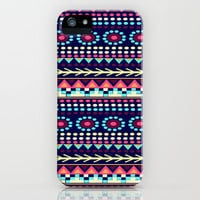 AIYANA PATTERN iPhone Case by Nika  | Society6