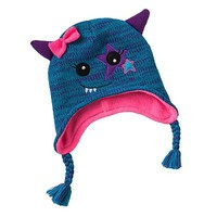 Monster Knit Hat - Girls 7-16