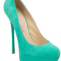 Gianmarco Lorenzi Suede Pump - Biondini - farfetch.com
