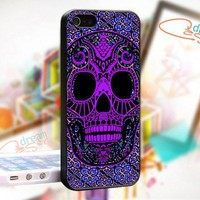 Sugar Skull Day Of The Dead Pattern - Photo On Hard Cover For iPhone 5