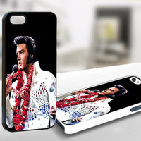 For Iphone 4/4s - elvis presley hawai - Case Print On Hard Cover