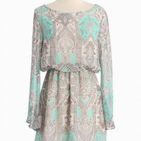 Chasing Daydreams Paisley Dress | Modern Vintage Dresses