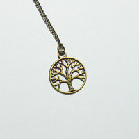 pretty cuckoo jewellery  Tree of Life Necklace