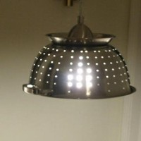 Ultimate Kitchen Colander Light by Midwestclassiccrafts on Zibbet