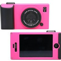 Amazon.com: (HK) Peach Retro Stereo Camera Icam Shape Protector Protective Hard Case Cover for iPhone 4 4S 4G: Cell Phones &amp; Accessories