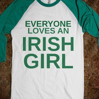 EVERYONE LOVES AN IRISH GIRL - glamfoxx.com