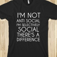 NOT ANTI SOCIAL - glamfoxx.com