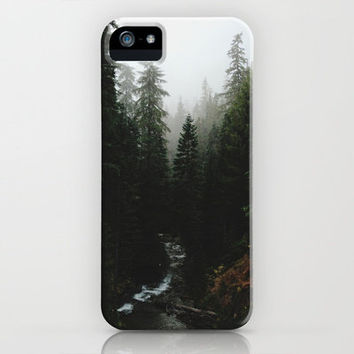 Rainier Creek iPhone Case by Kevin Russ