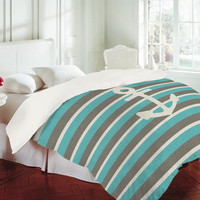 DENY Designs Home Accessories | Bianca Green Anchor 1 Duvet Cover