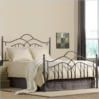 Hillsdale Oklahoma Metal Panel Bed in Bronze Finish - 1300BXR