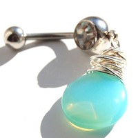 Belly Ring / Belly Jewelry / Sterling Silver and by RockYourBelly