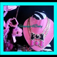 Over The Top With ElinPapi4Baby  Hello Kitty Bow Necklace