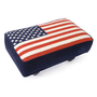 Jonathan Adler American Flag Needlepoint Stool in New