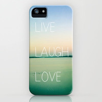 Live Laugh Love iPhone Case by Olivia Joy StClaire | Society6