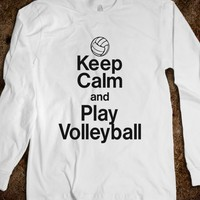 Keep calm and play volleyball - Katie Designs