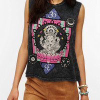 Urban Outfitters - Title Unknown Ganesha Mineralized Muscle Tee