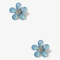 Faceted Flower Studs