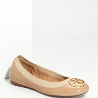 Tory Burch &#x27;Caroline&#x27; Elastic Trim Ballerina Flat | Nordstrom