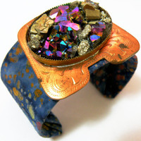 Galaxy Cuff Bracelet by nubambu on Etsy