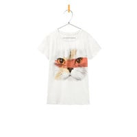 CAT PRINT T-SHIRT - T-shirts - Girl - Kids - ZARA United States