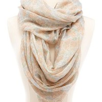 Vintage Floral Infinity Scarf: Charlotte Russe