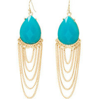 Kirra Tate Drape Turquoise Earrings