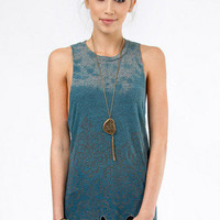 Chaser LA Damask Border Muscle Tank $62