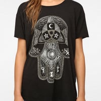 Truly Madly Deeply Palm Of Darkness Tee
